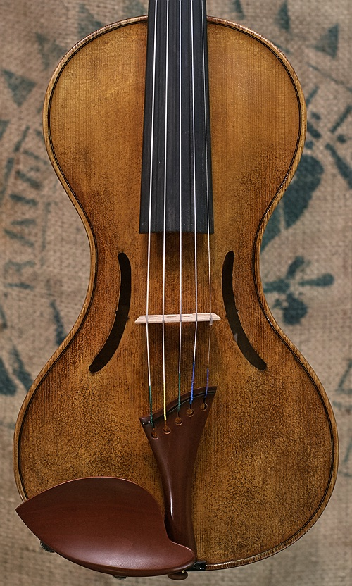 5 string violin, smooth body