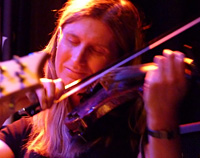 Chrissie Caulfield - 5 string violin