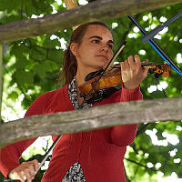 Morag Brown - 5 string violin